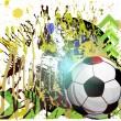 Vector football background — Stockvectorbeeld
