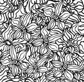 Floral background Modern texture. — Stok Vektör