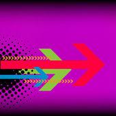 当代艺术抽象 grunge 背景 — 图库矢量图片