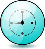 кнопку clock — Cтоковый вектор
