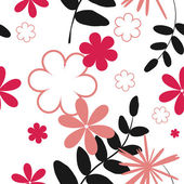 Colorful flower background — Stock Vector