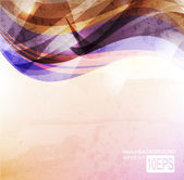 Abstract bright wave background — Stock Vector