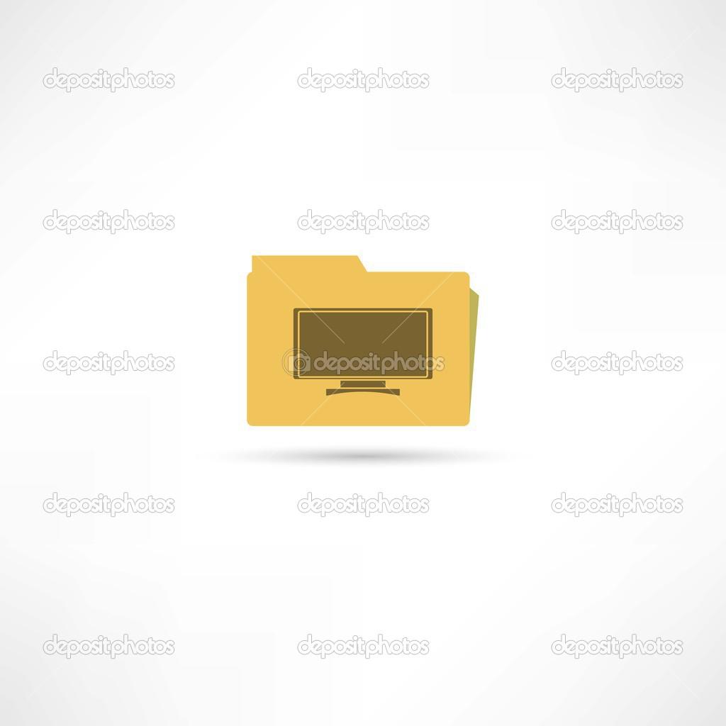 Computer Folder Icon Computer Folder Icon