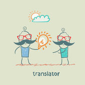 Translator — Stock Vector