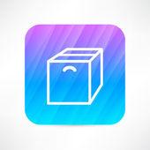Box icon — Stock Vector