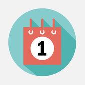Pictogram van de kalender — Stockvector