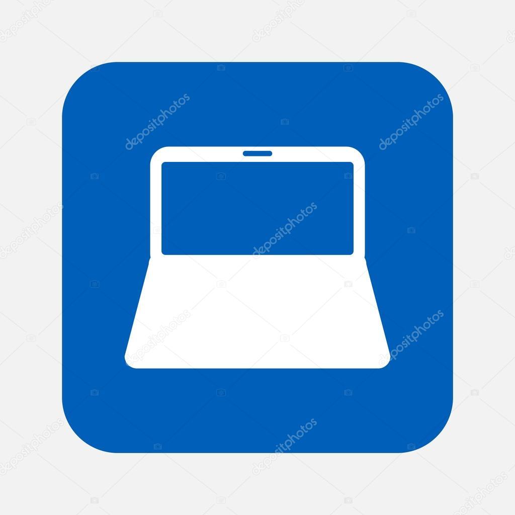 便携式计算机图标 — 矢量图片作者
