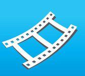 Filn frame icon — Stock Vector