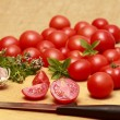 Cooking from tomatoes — Stock fotografie
