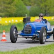 Постер, плакат: Vintage pre war race car Bugatti T 5450B from 1936
