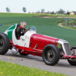 Постер, плакат: Vintage pre war race car Maserati 8CM from 1933