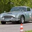 Постер, плакат: Vintage race touring car Aston Martin DB4 Vantage from 1962