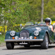 Vintage race touring car Morgan — Stock Photo