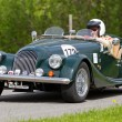 Vintage race touring car Morgan — Stock Photo #12486432