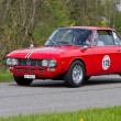 Vintage race touring car LanciFulvi1.3S from 1972 — Stock Photo #12486436