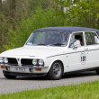 Stock Photo: Vintage race touring car Triumph Dolomite Sprint from 1973