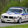 Stock Photo: Vintage race touring car Triumph Dolomite Sprint from 1979