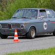 Vintage race touring car BMW 2002 touring from 1972 — Stock Photo #12486445