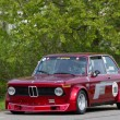 Vintage race touring car BMW 2002 Tii Gruppe 2 from 1968 - Stock Photo