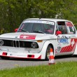 Vintage race touring car BMW 2002 Tii from 1972 — Foto de stock #12486452