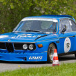 Постер, плакат: Vintage race touring car BMW CSL 3 5 l from 1973