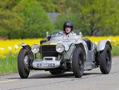 Vintage pre guerra corrida carro alvis grenfell de 1932 — Foto Stock