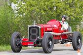 ビンテージ中古戦争レースカー 1930 年からナッシュ 480 aeropower — ストック写真