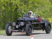 винтаж pre война гонки автомобилей райли скорость adelphina от от 1936 — Стоковое фото