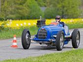 Vintage pre war race car Bugatti T 54/50B from 1936 — Stockfoto