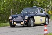 Carrera vintage turismos austin healey 3000 mk iii desde 1966 — Foto de Stock