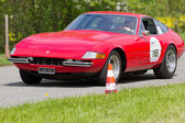 Vintage race touring car Ferrari 365 GTB IV from 1969 — Stock Photo