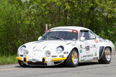 Vintage race touring car Alpine Renault A 110 1600 S from 1972 — Stock Photo