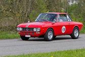 Vintage yarış araba lancia fulvia 1.3s 1972 — Stok fotoğraf