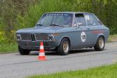 винтаж гонки легковых автомобилей bmw 2002 универсал от 1972 года — Стоковое фото