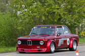 Vintage race touring car BMW 2002 Tii Gruppe 2 from 1968 — Stock Photo