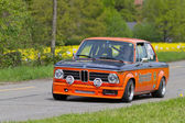 Vintage race touring car BMW 2002 Tii from 1974 — Stock Photo
