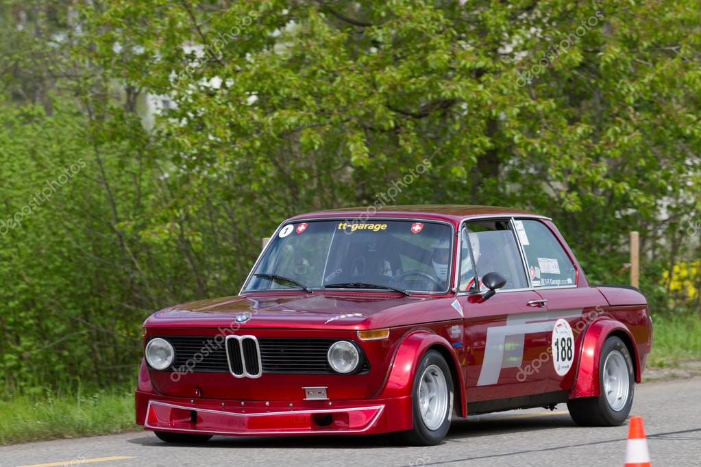 Bmw 2002 Tii Race Car >> Vintage race touring car BMW 2002 Tii Gruppe 2 from 1968 – Stock Editorial Photo © mlehmann ...