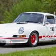 Vintage race touring car Porsche CarrerRS 2.7 from 1973 — Stock Photo #13369450