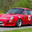Vintage race touring car Porsche CarrerRSR 2.8 from 1973 — Stock Photo #13369462