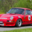 Vintage race touring car Porsche Carrera RSR 2.8 from 1973 — Stock Photo #13369462