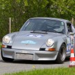 Stock Photo: Vintage race touring car Porsche RSR from 1973