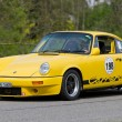 Stock Photo: Vintage race touring car Porsche Carrerfrom 1976