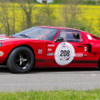 Vintage race touring car Ford GT 40 from 1969 — Stock Photo #13369510