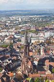 Stare miasta freiburg im breisgau, niemcy — Zdjęcie stockowe