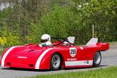 Carrera vintage auto fiat abarth v8 de 1971 — Foto de Stock