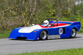 Vintage race car EBS Chevron B23 from 1971 — Stock Photo
