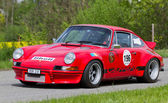 Vintage race touring car Porsche Carrera RSR 2.8 from 1973 — Stock Photo
