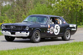 Vintage race touring car Ford Mustang from 1965 — Stock Photo