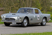 Vintage race touring carmaserati 3500 gt vanaf 1962 — Stockfoto