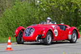 Vintage race touring car Healey Silverstone Typ E from 1950 — Stock Photo